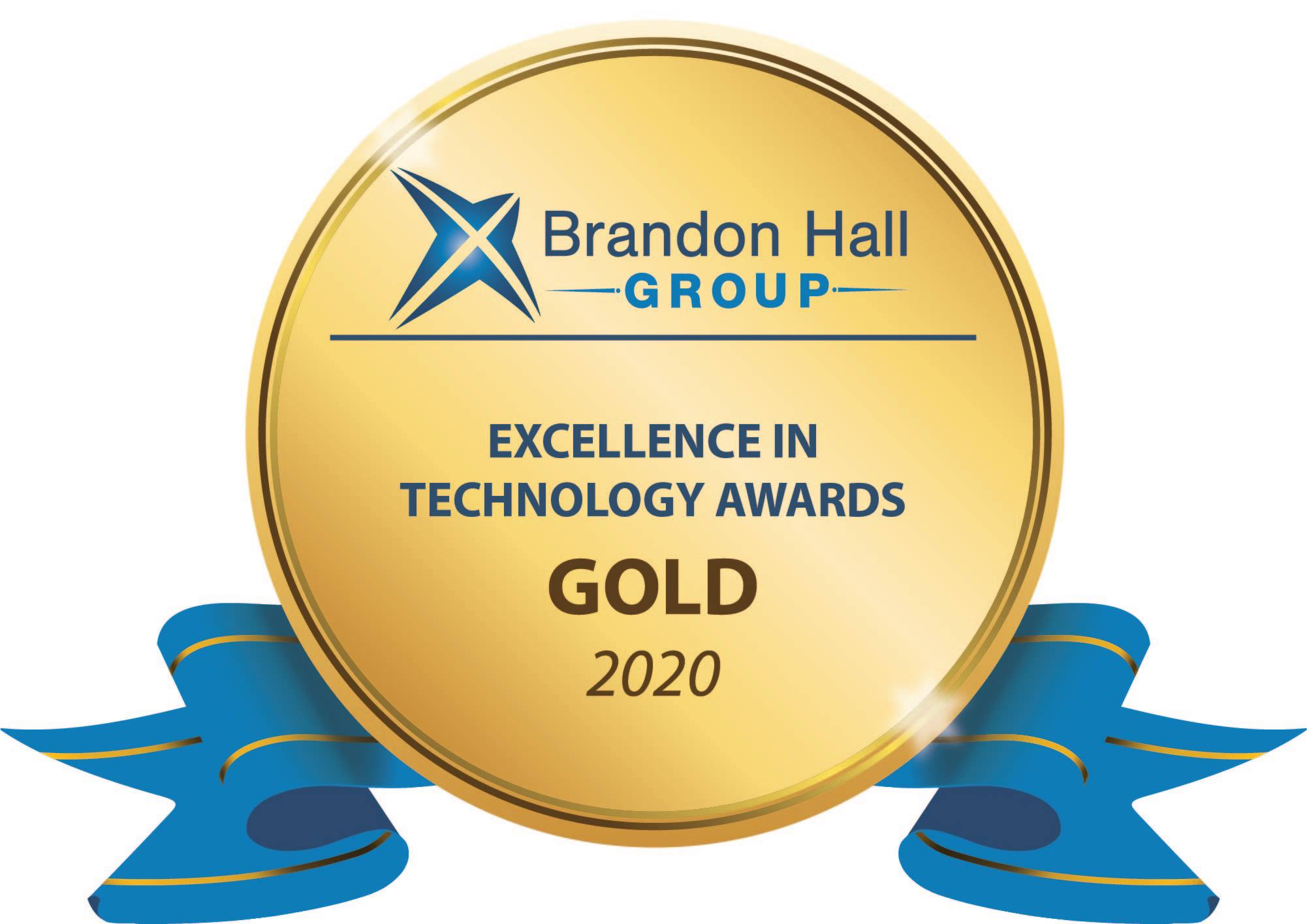 2020 Brandon Hall Gold award